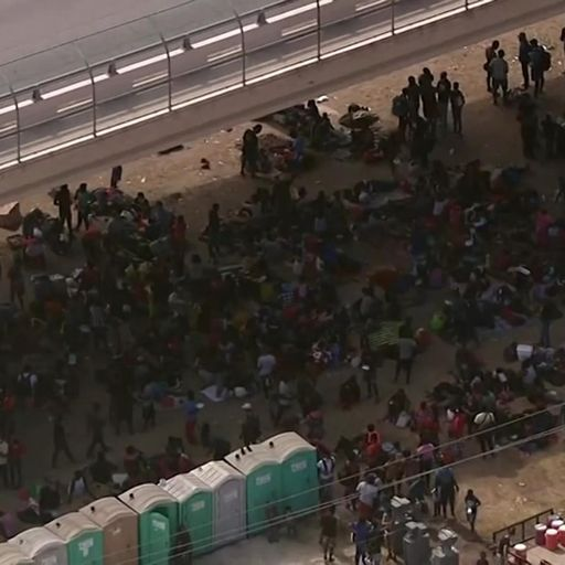Texas begs for help as 10,000 migrants camp in squalid conditions under US-Mexico bridge