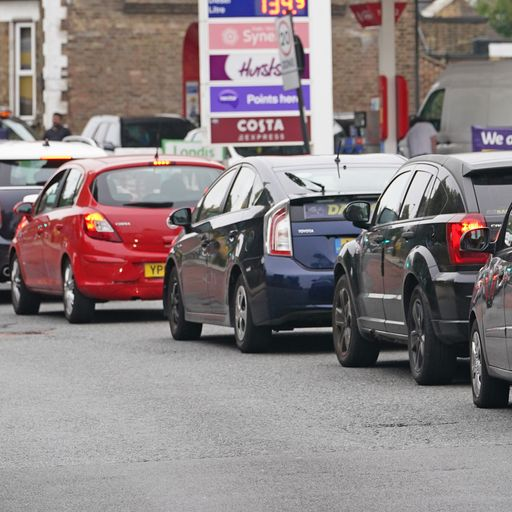 Long queues at forecourts as more foreign HGV drivers set to be allowed to work in UK