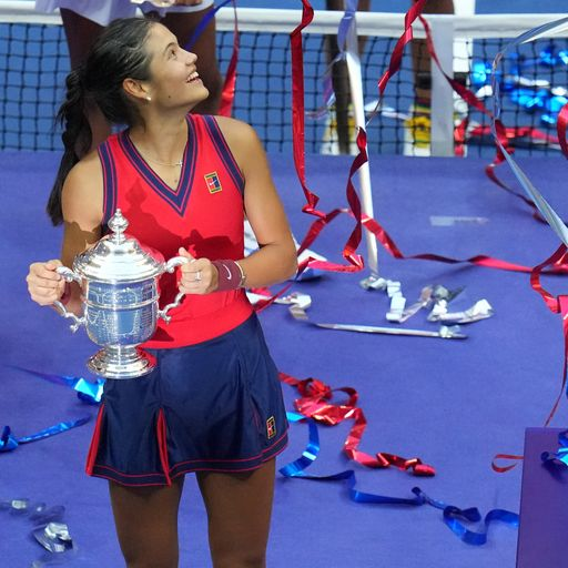 Will the teenager be able to stay at the top in tennis for years to come?