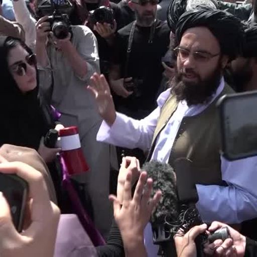 Taliban breaks up women's rights protests in Kabul