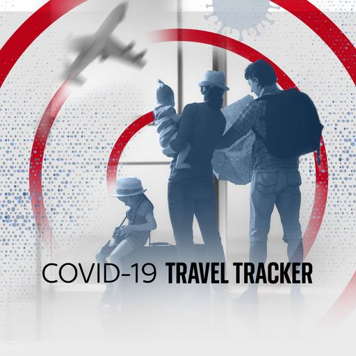 COVID-19 travel tracker - How countries' rates compare and what travel list they're on