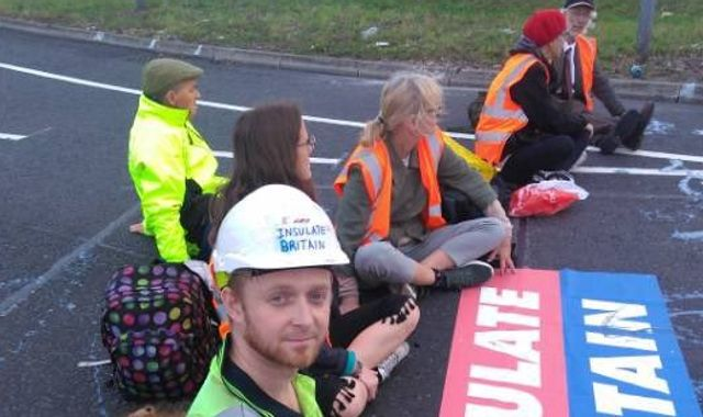 Climate protesters block access to M25 for the fourth time in a week