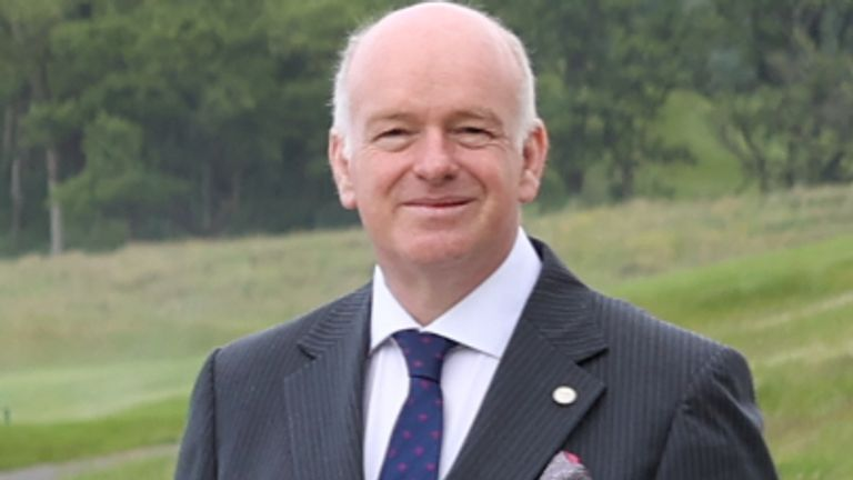 Chief Minister of the Isle of Man Howard Quayle at the British Irish Council summit in Lough Erne Resort in Enniskillen, Co Fermanagh. Picture date: Friday June 11, 2021.
