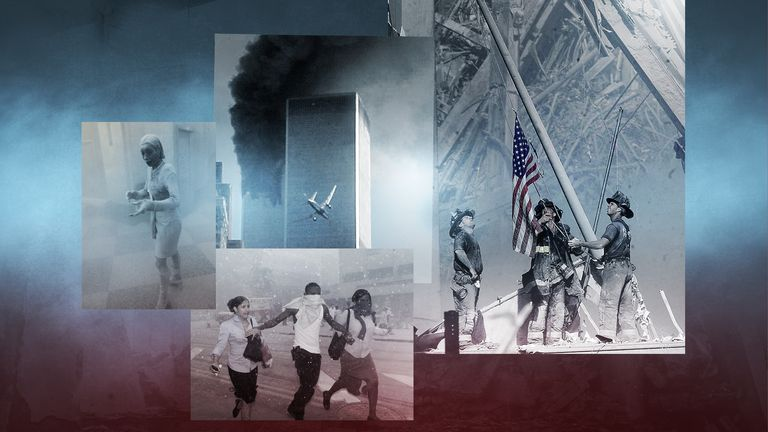 Iconic images of 9/11