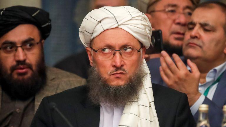 Abdul Salam Hanafi in Moscow in February 2019