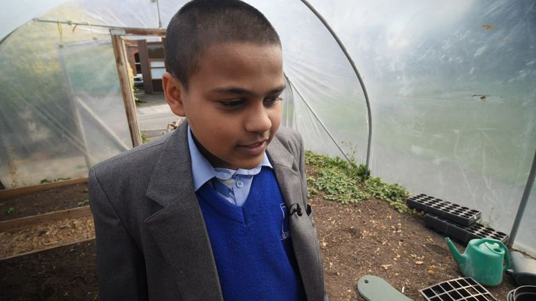 Abyan Farooq knows by the time he leaves school climate change may have forced more than 100 million people into poverty