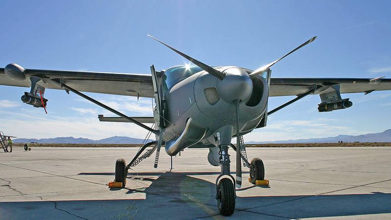 The Afghan Army had 10 AC-208 planes in Afghanistan at the end of June 2021. Pic: Northrop Grumman