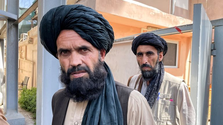 Abdul Malik, the Taliban commander in charge of security at the British and Canadian embassies