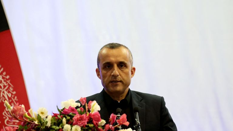 Amrullah Saleh was the vice president of Afghanistan before the Taliban took control of Kabul