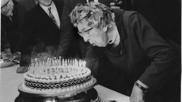Agatha Christie. Pic: The Christie Archive