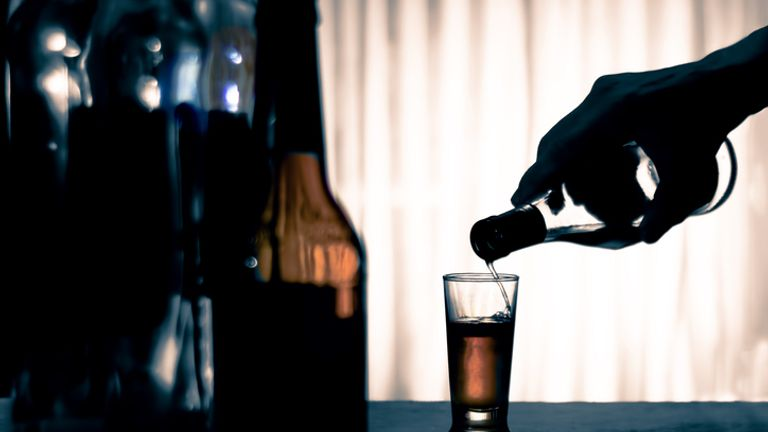 Alcohol-related deaths saw an 'unprecedented; rise of 20%  last year