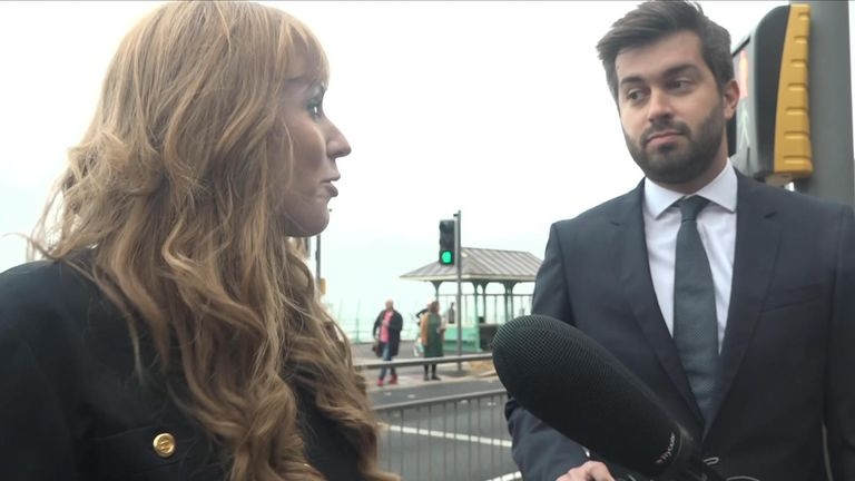 Angela Rayyner speaks to Sky's Joe Pike as the annual Labour Party conference gets underway.