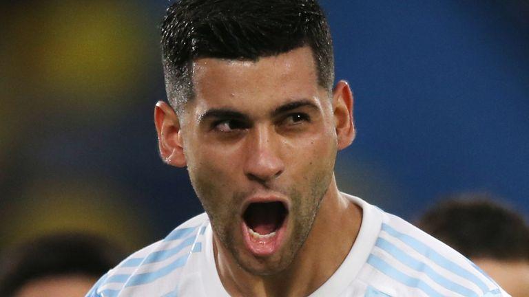 Argentina's Cristian Romero