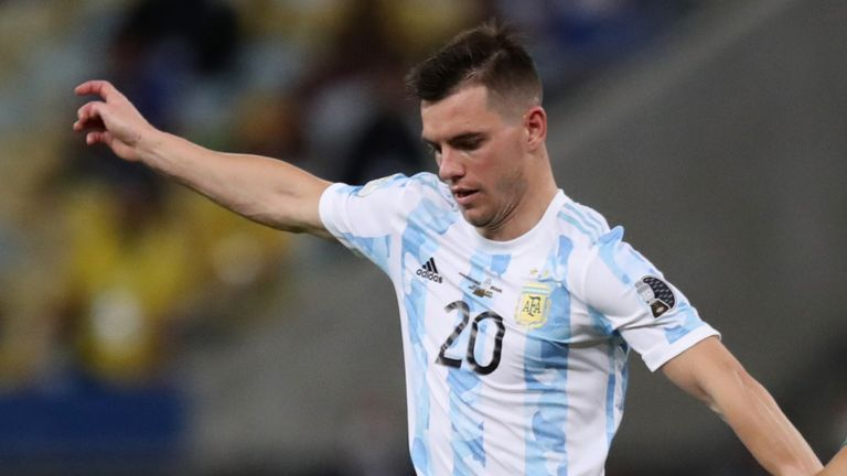 Argentina's Giovani Lo Celso