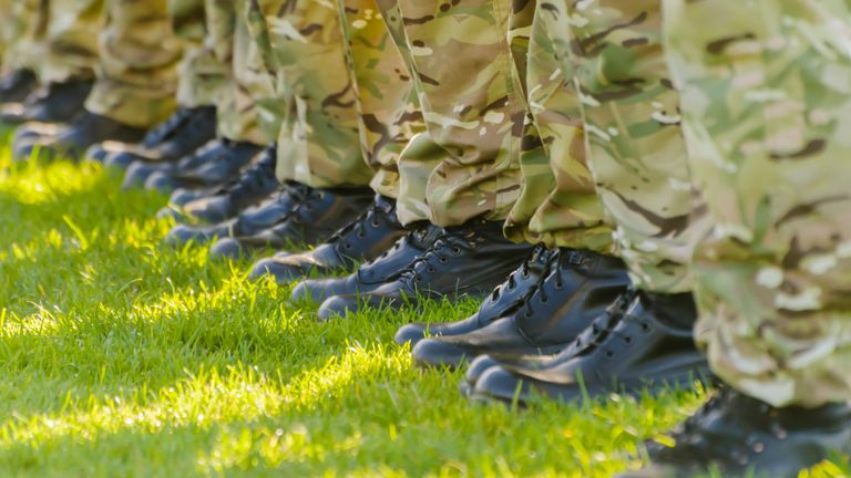 Nine British soldiers face being questioned over the murder of a Kenyan woman. File pic
