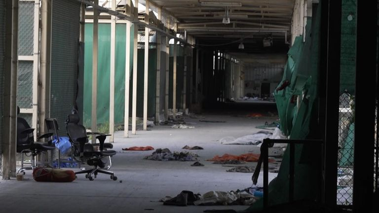 The prison was known locally as Afghanistan's Guantanamo