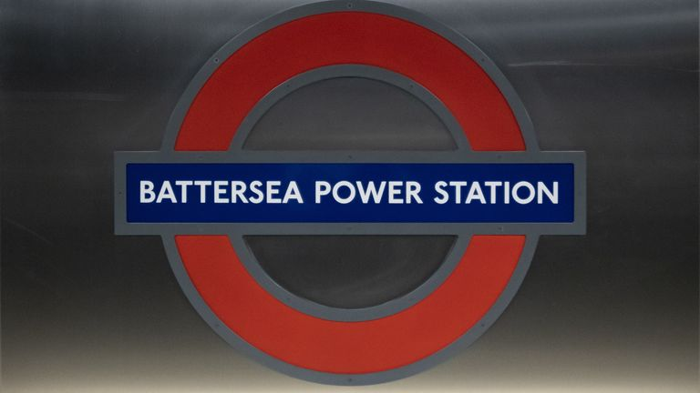 Battersea Power Station is one of two new stops in south London