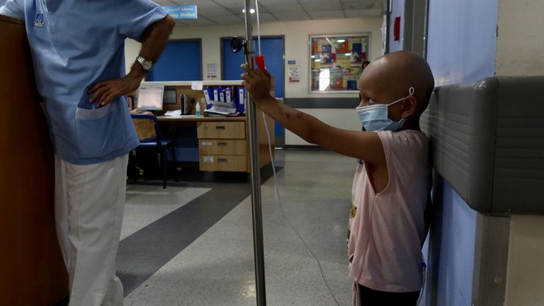 Rudayana's father says he can't even guarantee her food after her chemotherapy