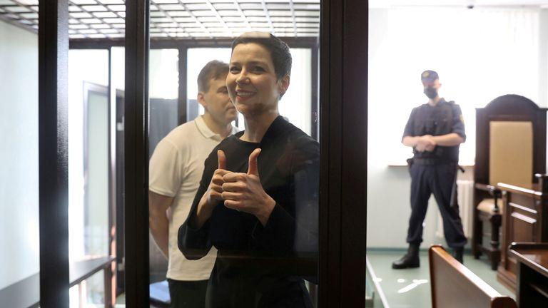 Maria Kolesnikova was sentenced to 11 years in prison on Monday
