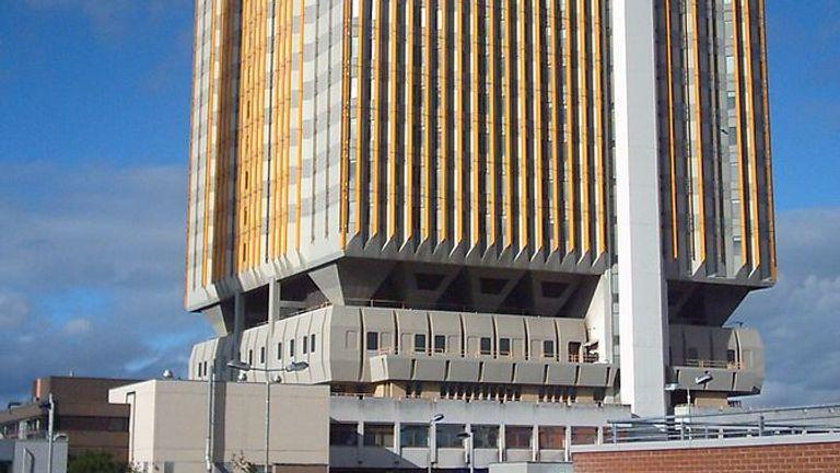 Belfast City Hospital. Pic: eowin