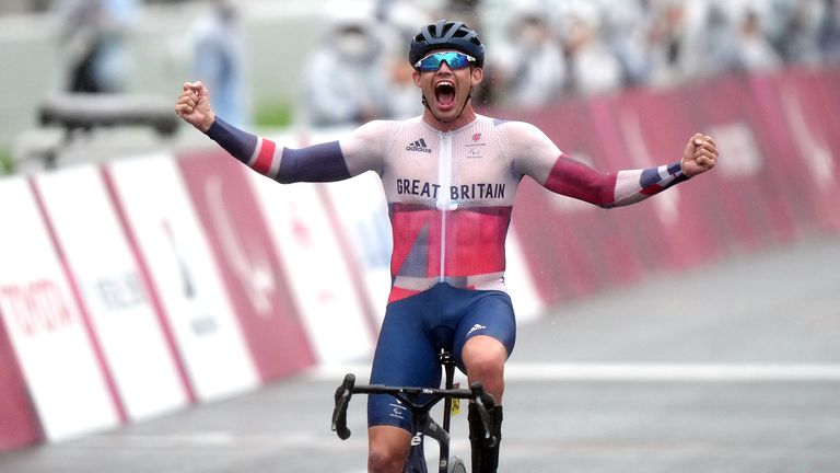 Ben Watson also won gold in the cycling