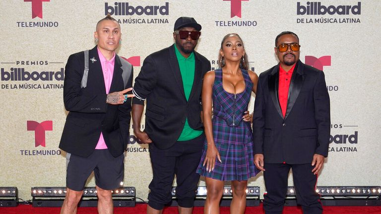 Black Eyed Peas have bee together since the 90s. Pic: AP