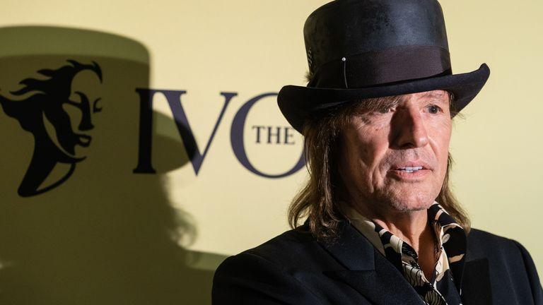 Bon Jovi star Richie Sambora at the Ivor Novello Songwriting Awards in London in September 2021