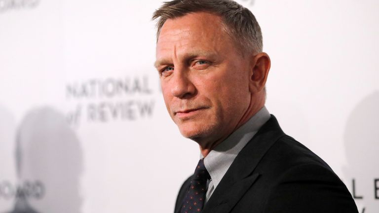 Daniel Craig arrives for the National Board of Review Awards in Manhattan, New York City, U.S., January 8, 2020. REUTERS/Andrew Kelly
