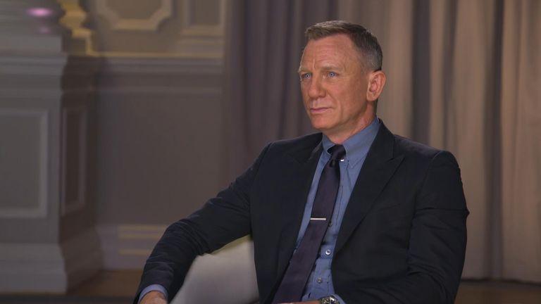 Daniel Craig speaks to Sky's Katie Spencer.