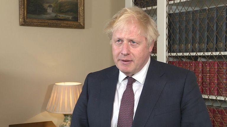 Boris Johnson Grab - Do Not Publish untill end of Embargo