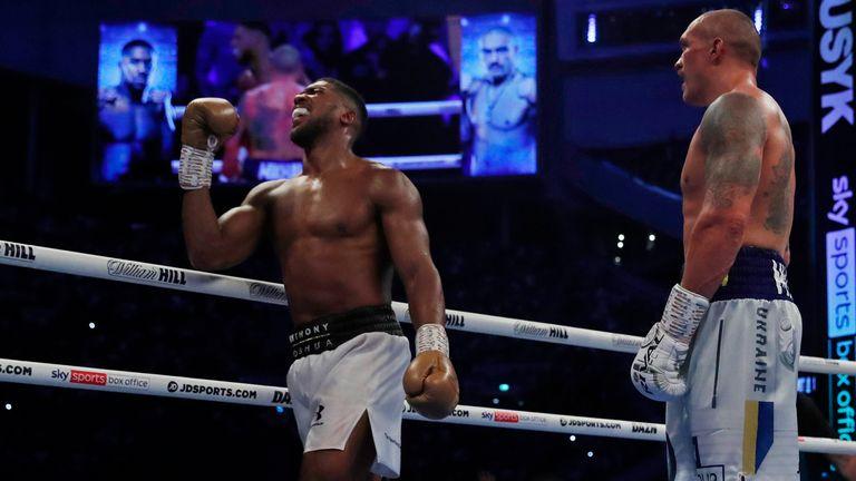 Joshua has lost his IBF, WBA and WBO heavyweight titles