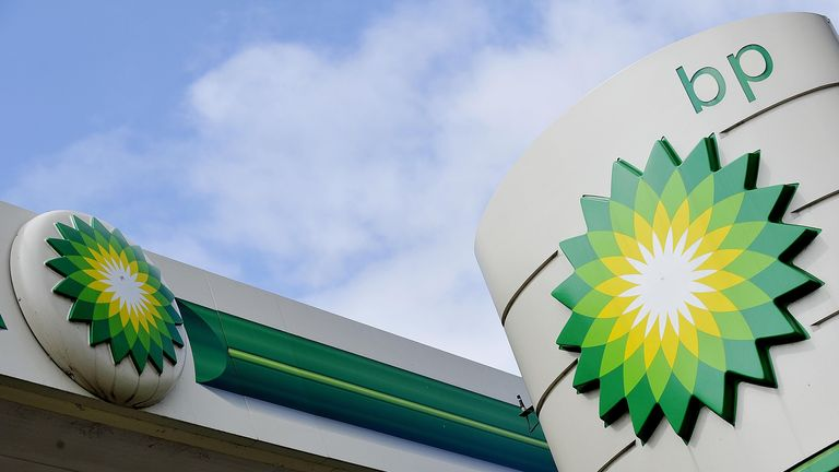 A view of a BP petrol station sign in Chelmsford, Essex. PRESS ASSOCIATION Photo. Picture date: Thursday August 15, 2013. Photo credit should read: Nick Ansell/PA Wire