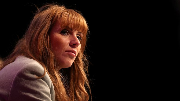 Britain's Labour Party Deputy Leader Angela Rayner attends the party's annual conference, in Brighton, Britain