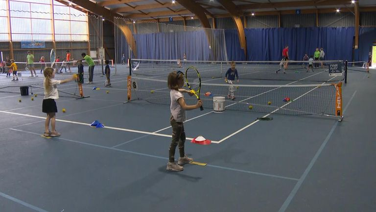Radacanu trained regularly at Bromley Tennis Centre over the years