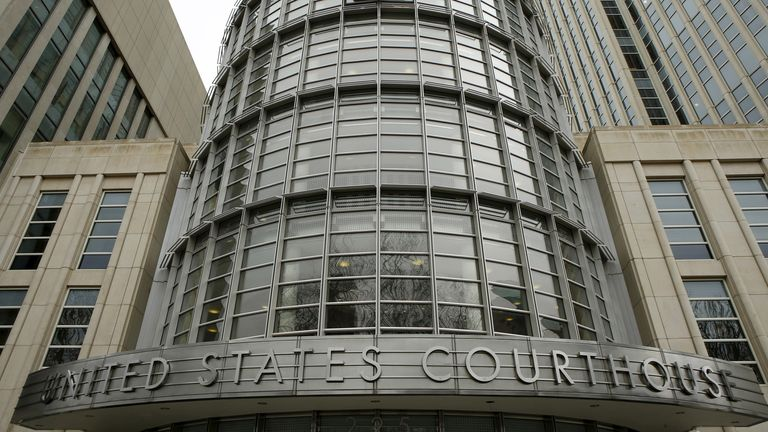 Prosecutors brought the charges before a judge at Brooklyn federal court. File pic