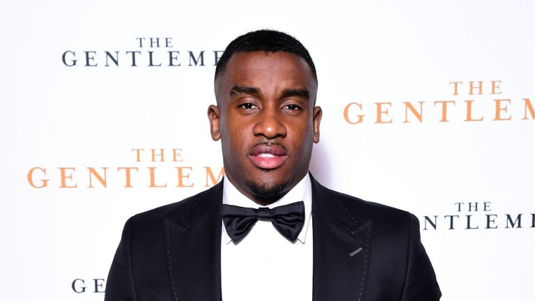 Grime star Bugzy Malone cleared after attacking men he thought had tried to break into his home thumbnail