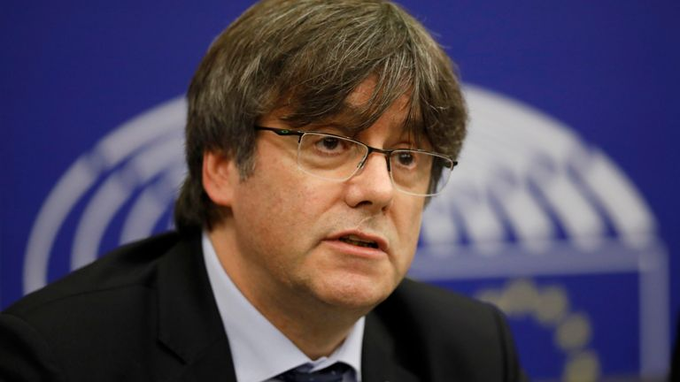 Carles Puigdemont has been arrested after in Italy after fleeing from Spain in 2017