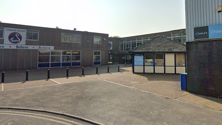 An anti-vaccine campaigner entered the school and approached the headteacher in reception