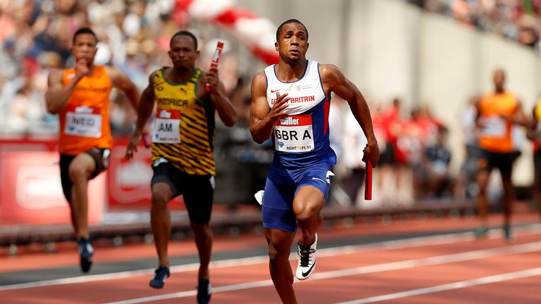 CJ Ujah's B sample was found to contain banned substances