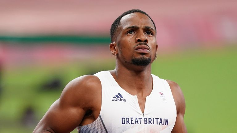 Great Britain's CJ Ujah will face a hearing to respond to the results