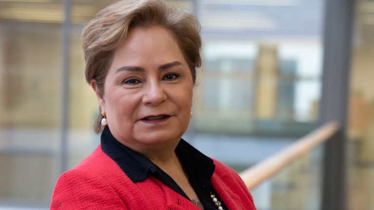"""Patricia Espinosa, the UN's climate change chief, suggested that a more ambitious plan from the world's largest polluter was more likely to be delivered in """"the coming years"""""""