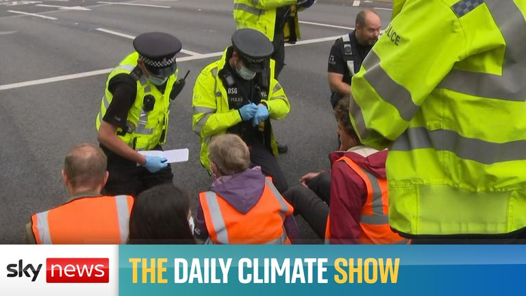 COP26: Boris Johnson urges humanity to 'grow up' and 'come of age' at Glasgow climate change summit |  Political News