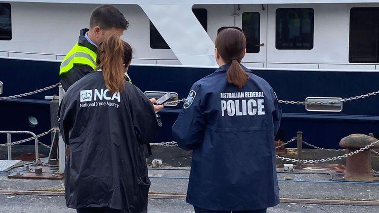 Pic: Australian Federal Police