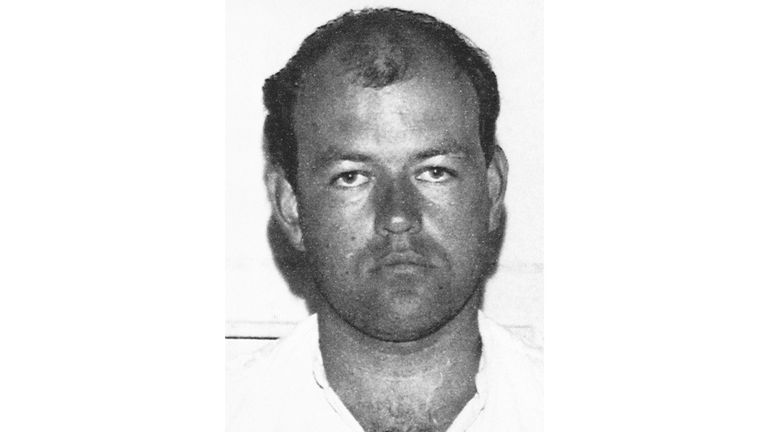 BLACK AND WHITE ONLY Undated police handout file photo of Colin Pitchfork, who was jailed for life after strangling 15-year-olds Lynda Mann and Dawn Ashworth in Leicestershire in 1983 and 1986. The Parole Board has published a decision that Pitchfork is suitable for release from prison. Issue date: Monday June 7, 2021.