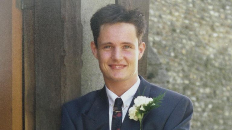 Undated police handout photo of butchery worker Stuart Lubbock, 31, who died in hospital after being found unconscious in a swimming pool at the home of TV presenter Michael Barrymore in Roydon, Essex