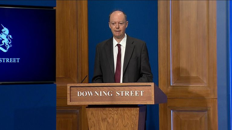 Sir chris whitty covid press conference 14/9/21