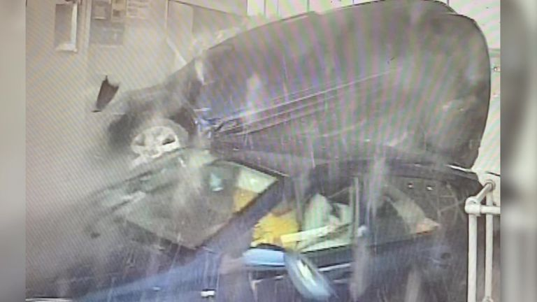 Drivers are being warned not to take drugs and drive after three people narrowly escaped serious injury in a collision in Great Wyrley last year. Pic Taken from Staffordshire Police' video handout