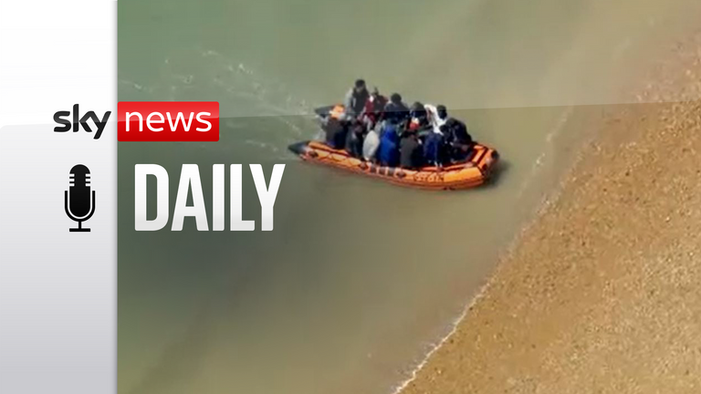 Boats carrying migrants across the English Channel continue to arrive on UK shores.