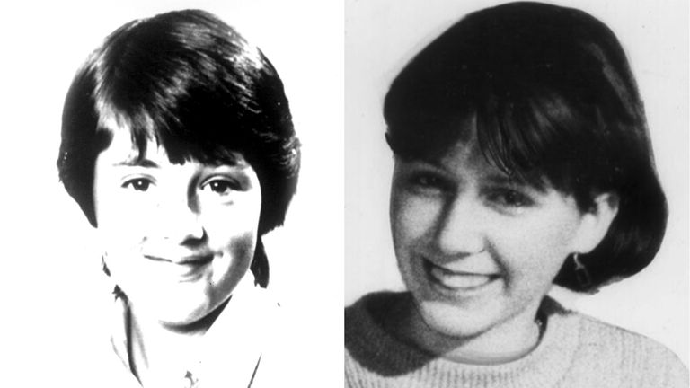 Dawn Ashworth and Lynda Mann