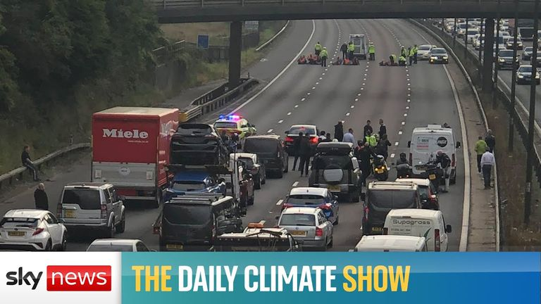 On today's show, an excusive interview with the UKs chief negotiator to COP26, and more than 70 arrested in climate protests.